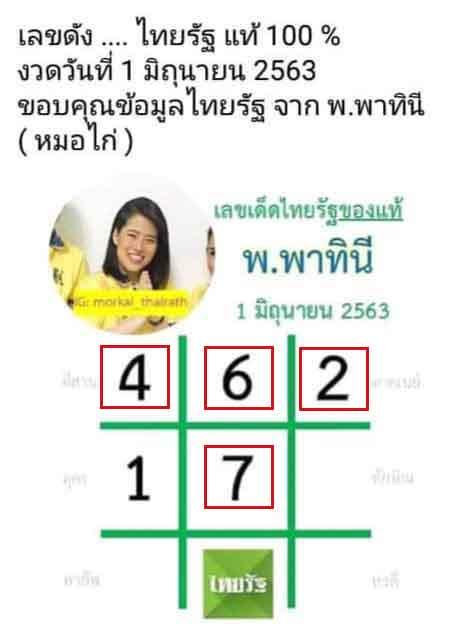 เลขเด็ดไทยรัฐ