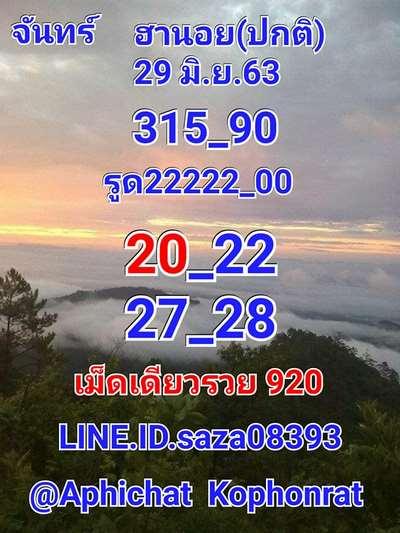 Ruay Hanoi Lotto Result .1