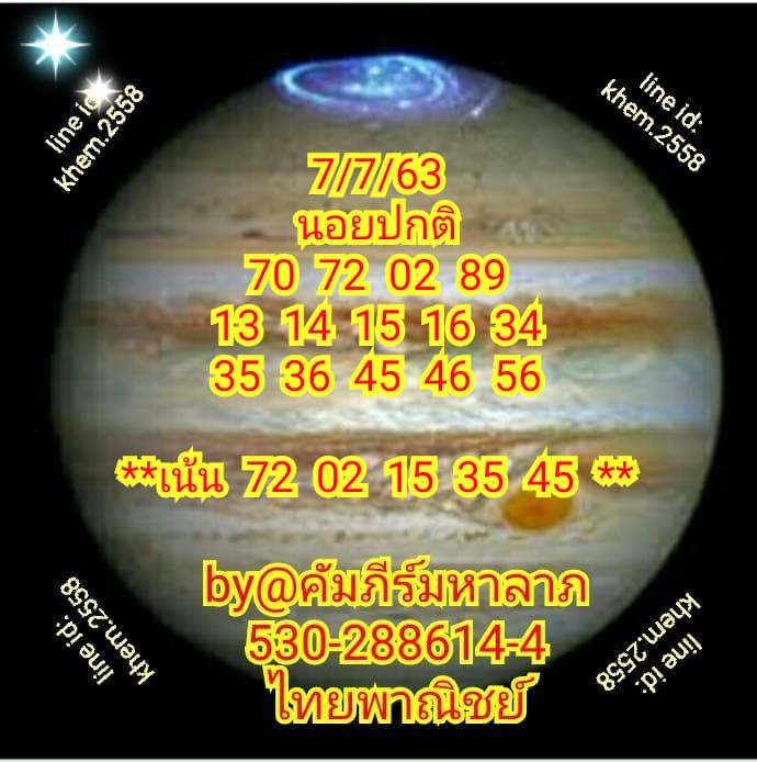 Hanoi Lotto Kapeema Halap 7 7 63