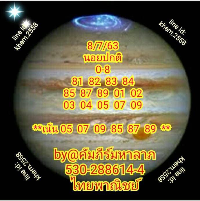 Hanoi Lotto Kapeema Halap 8 7 63