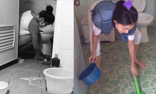 คนขัดห้องน้ำ