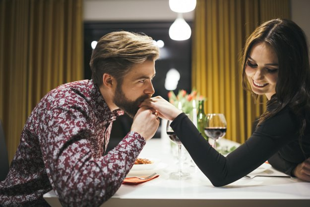 Charming Couple Dating Cafeteria 23 2147736694