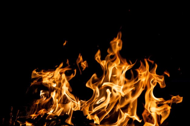 Fire Flames Black Background 158595 4100