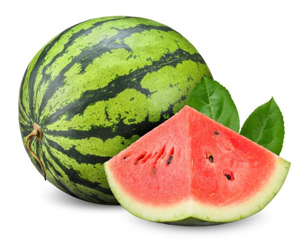 Watermelon Isolated White Clipping Path 26628 847