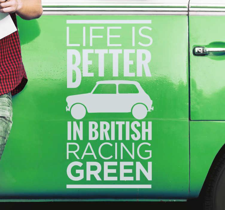 รถสีเขียว