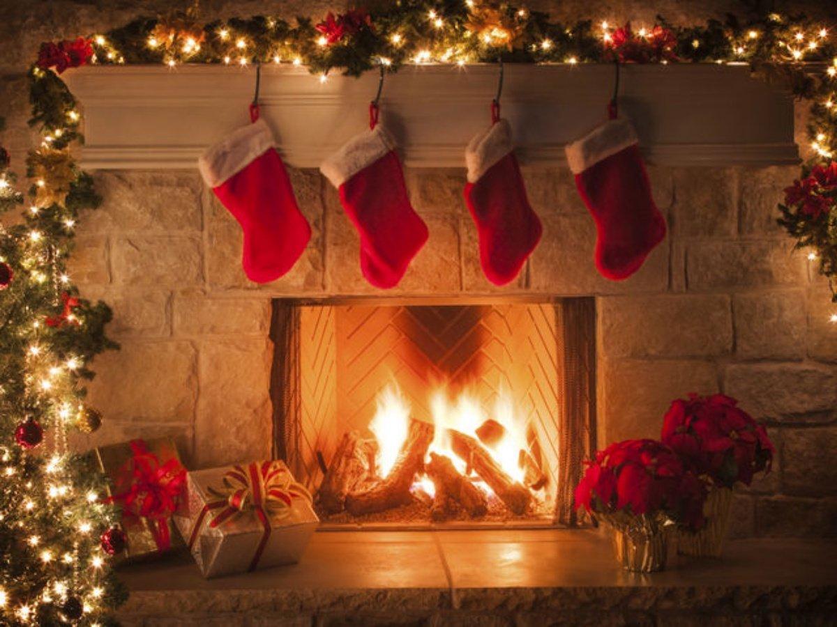 แขวนถุงเท้าวันคริสต์มาส