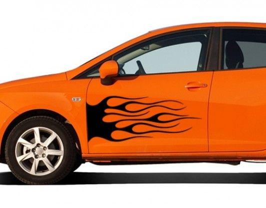 รถสีส้ม