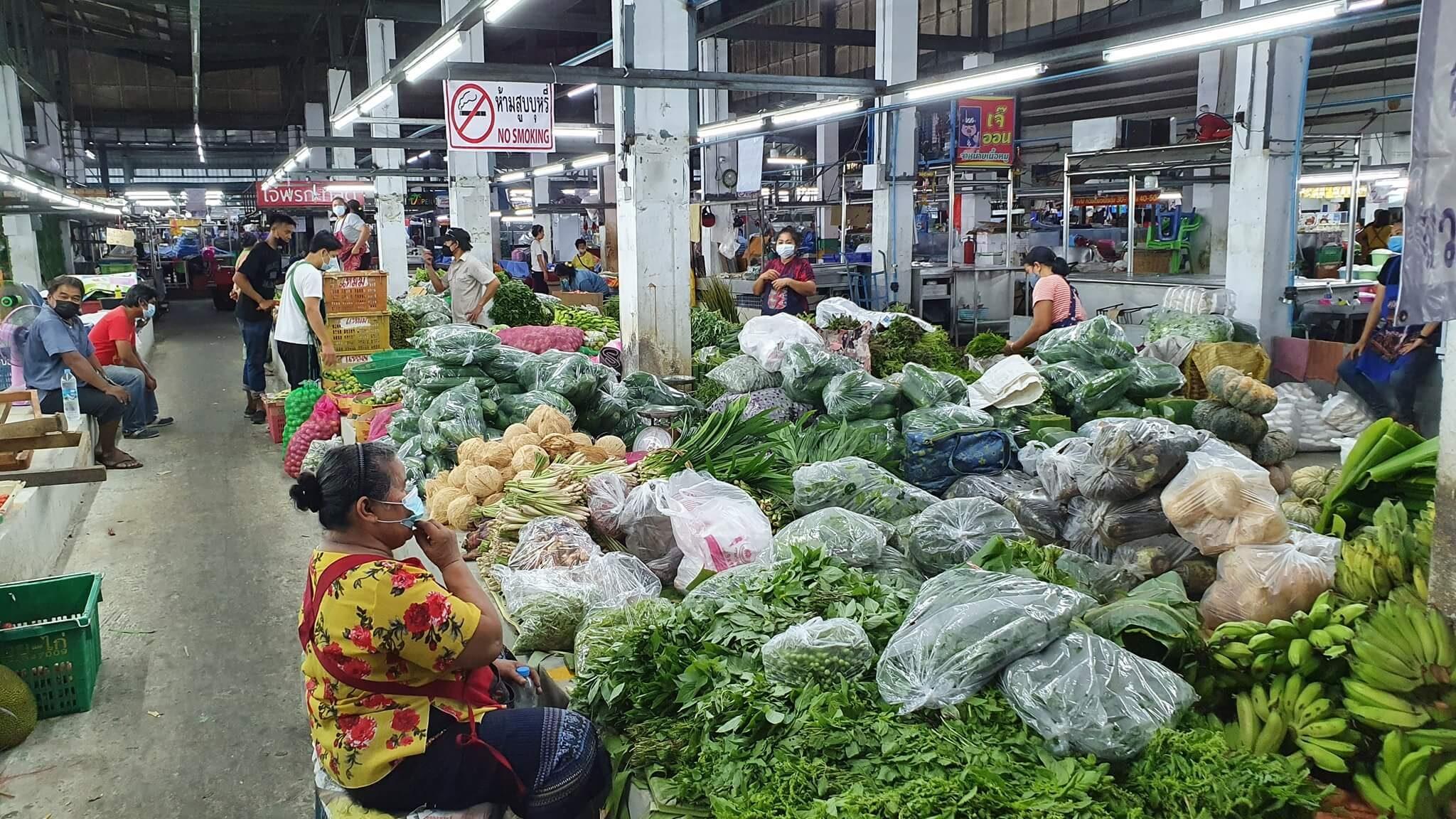 ตลาดสิริเศรษฐนนท์ (แสงฟ้าเก่า) ตลาดบางแค