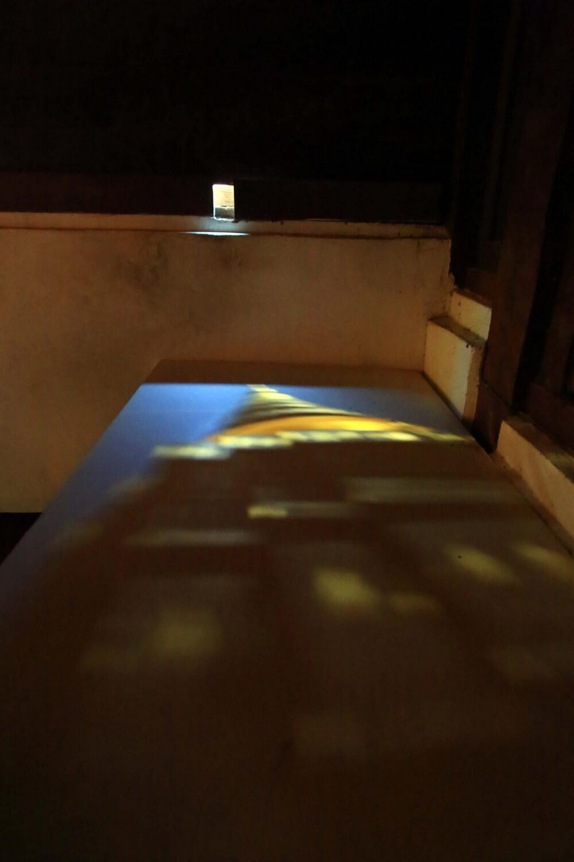 ภาพโบสถ์สะท้อนเงา วัดพระธาตุลำปางหลวง
