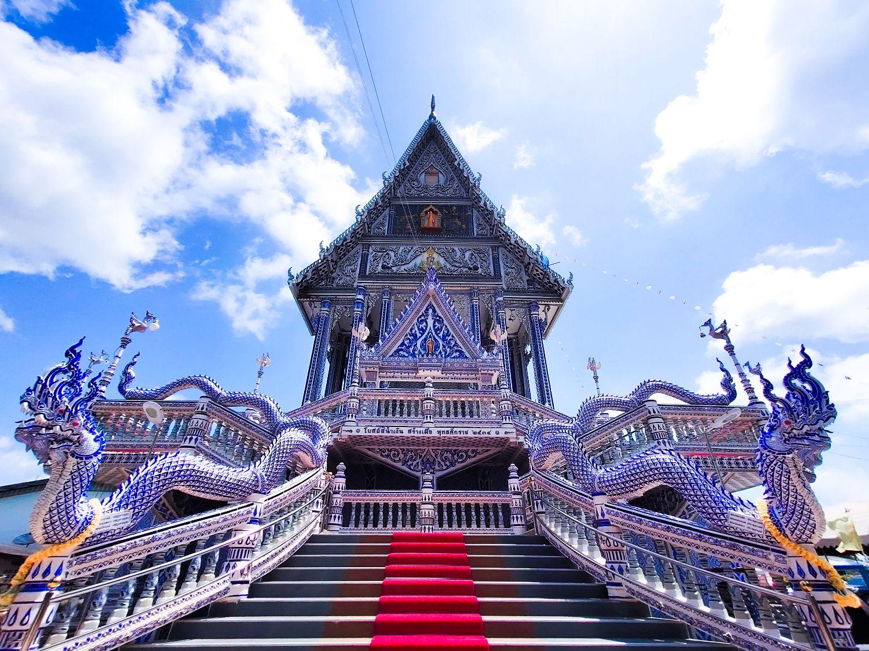 pak nam khaem nu temple