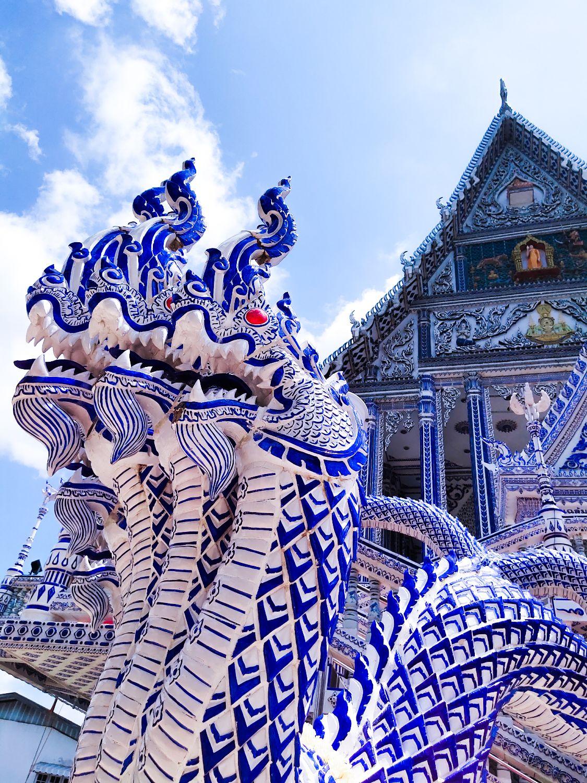 Blue king of Nagas