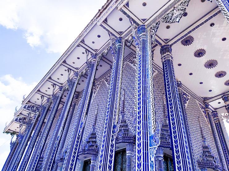 blue buddhist church