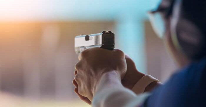 คนเรียนยิงปืน