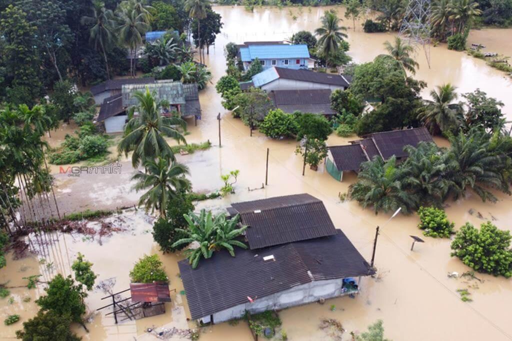 น้ำท่วมชุมชน