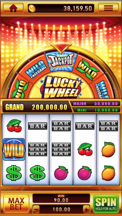 เล่นเกม lucky wheel